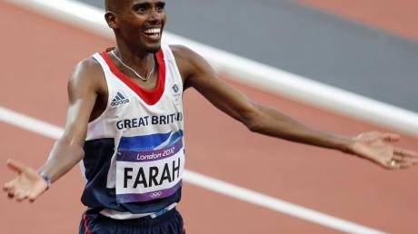 Mohamed Farah will wieder die langen Distanzen auf der Bahn laufen.