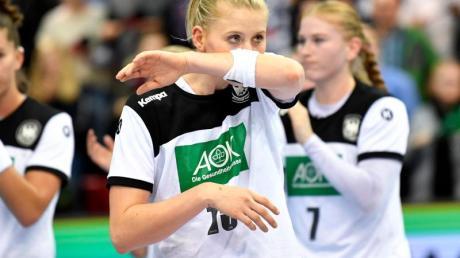 Möchte mit dem DHB-Team zu den Olympischen Spielen: Kim Naidzinavicius (M.).