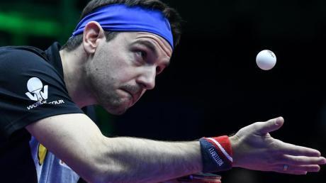 Tischtennis-Ass Timo Boll ist in China ausgeschieden.