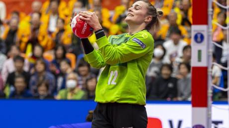 DHB-Torhüterin Dinah Eckerle spielt bislang eine überragende WM.