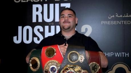 Wird oft als pummelig verspottet: Schwergewichtschampion Andy Ruiz jr.