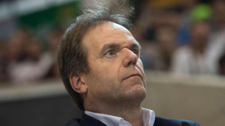 Hat die Vertragsverlängerung von Göppingens Trainer Mayerhoffer verkündet: Frisch-Auf-Geschäftsführer Gerd Hofele.