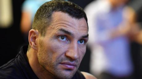 Würde nur für einen besonderen Anlass wieder in den Boxring steigen:Wladimir Klitschko.