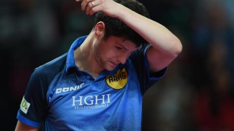 Schied bei den World Tour Grand Finals aus: Dimitrij Ovtcharov.