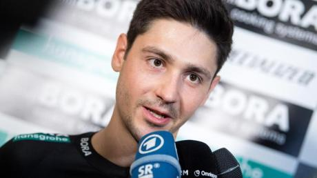 Emanuel Buchmann will bei der Tour der France aufs Podium.