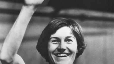 Gewann 1964 Gold in Tokio: Karin Balzer.