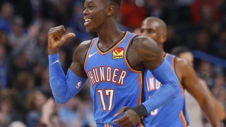 Dennis Schröder erzielte 28 Punkte für die Oklahoma City Thunder.