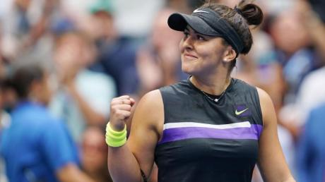 Muss ihren Saisonstart verschieben: US-Open-Siegerin Bianca Andreescu.