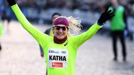 Gewann den Silvesterlauf in Trier: Katharina Steinruck.