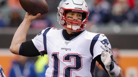 Ist mit den New England Patriots in der NFL früh gefordert: Quarterback Tom Brady.
