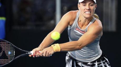 Angelique Kerber erhielt einen Dämpfer in der Vorbereitung auf die Australian Open.