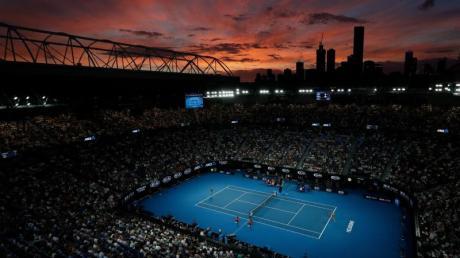 Austragungsort der Australian Open:Rod Laver Arena.