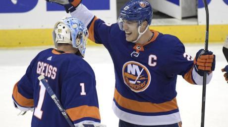 Die New York Islanders besiegten die New Jersey Devils mit 4:3.