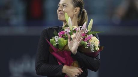 Hat eine Einladung zu den Australian Open bekommen: Maria Scharapowa.