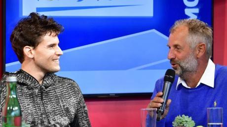 Thomas Muster (r) wird Österreichs Tennis-Star Dominic Thiem beratend zur Seite stehen.