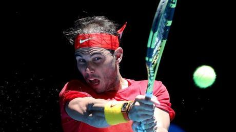 Rafael Nadal trifft im Viertelfinale des ATP Cups mit Spanien auf Belgien.