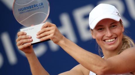 Vorerst letzte Siegerin in Nürnberg: Julia Putinzewa.
