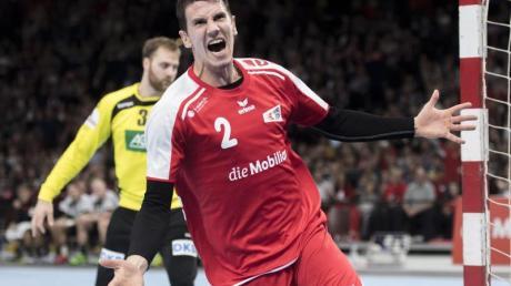 Bundesliga-Star Andy Schmid hat für die Schweiz gegen Polen 15 Tore erzielt.
