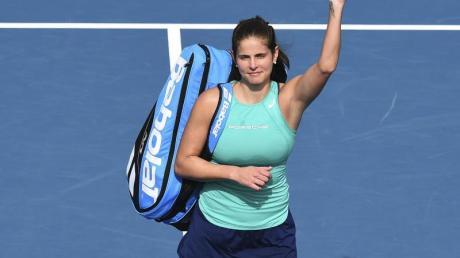 Julia Görges hat sich in Adelaide ins Achtelfinale gespielt.