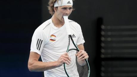Tennisprofi Alexander Zverev erlebt gerade eine schwere Zeit.
