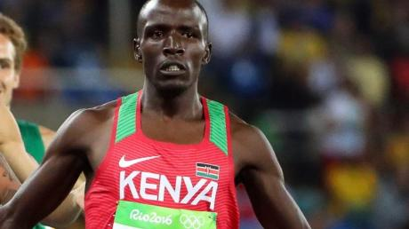 Suspendiert wegen verpasster Dopingkontrollen: Der Kenianer Alfred Kipketer.