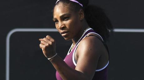 Startet wieder im Fed-Cup für die USA: Serena Williams.