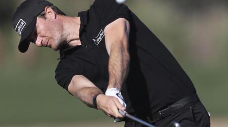 Sebastian Heisele spielte in Abu Dhabi mit 64 Schlägen die Rundes des Tages.
