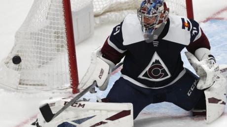 Torwart Philipp Grubauer zeigte eine starke Leistung für seine Colorado Avalanche.