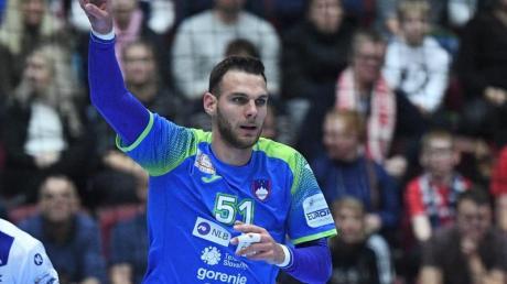 Borut Mačkovšek konnte gegen Ungarn nicht die erste Niederlage Sloweniens bei der Handball-EMverhindern.