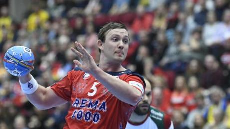Der Norweger Sander Sagosen steht mit seinem Land kurz vor dem Einzug ins Halbfinale der Handball-EM.