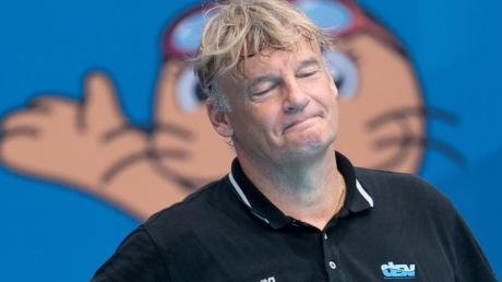 Verpasste mit Deutschlands Wasserballern das EM-Viertelfinale: Bundestrainer Hagen Stamm.
