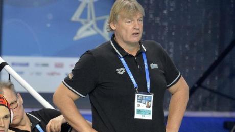 Hat mit Deutschlands Wasserballern weiter die Chance auf Olympia.