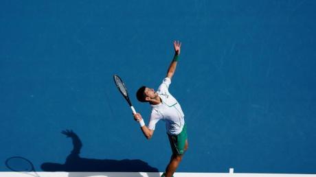 Novak Djokovic hatte keine Mühe mit dem Japaner Yoshihito Nishioka.