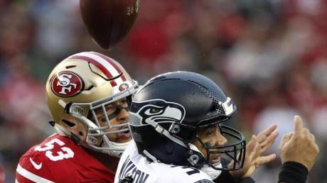 Mark Nzeocha spielt in der NFL für die San Francisco 49ers.