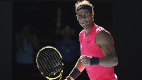 Rafael Nadal spielte sich locker ins Achtelfinale.