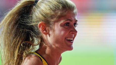 Wurde in Boston Zweite über 1500 Meter.