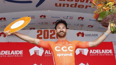 Simon Geschke erreichte in der Gesamtwertung der Tour Down Under das Podium.