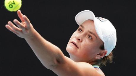 Hat sich in Viertelfinale der Australian Open gespielt: Ashleigh Barty.