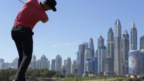 Sebastian Heisele spielte am Finaltag der Dubai Desert Classic nur eine schwache 83er-Runde.