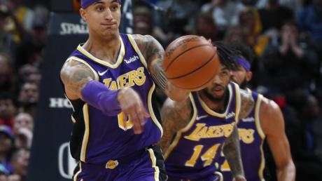 Geschockt vom Tode Kobe Bryants: Lakers-Star Kyle Kuzma.