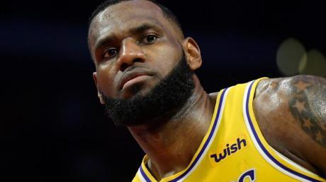 Verabschiedete sich mit einem emotionalen Post von Kobe Bryant: Lakers-Star LeBron James.