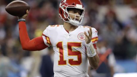 Bestreitet mit den Kansas City Chiefs das Super-Bowl-Endspiel: Patrick Mahomes.