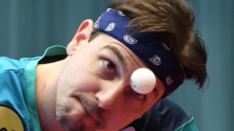 Timo Boll wird bei den German Open auf harte Gegner treffen.