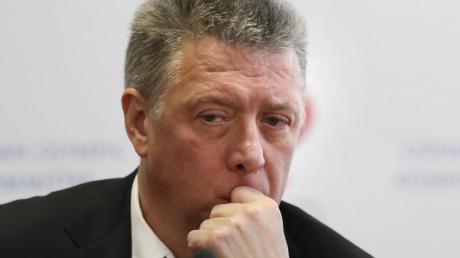 Dmitrij Schljachtin ist Präsident des russischen Leichtathletikverbandes Rusaf.