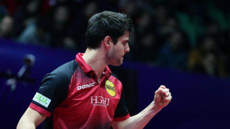 Ist bei den German Open eine Runde weiter:Dimitrij Ovtcharov.