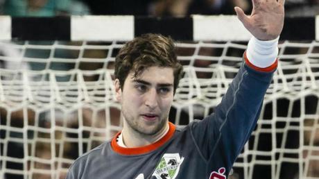 Domenico Ebner steht bei der TSV Hannover-Burgdorf im Tor.