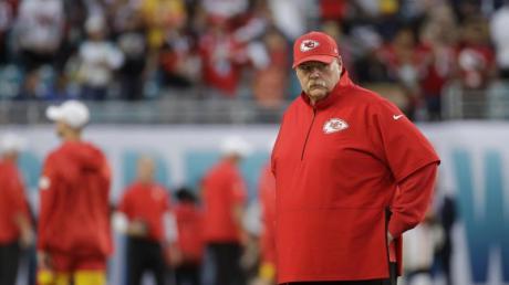 Denkt noch lange nicht an den Ruhestand: Andy Reid, Trainer der Kansas City Chiefs.
