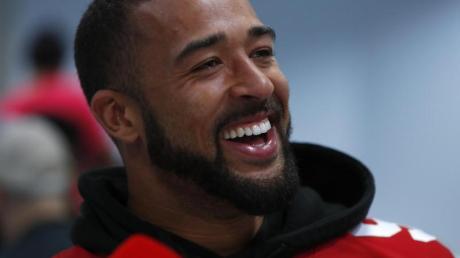 Verpasste mit den San Francisco 49ers den Sieg im Super Bowl: Mark Nzeocha.