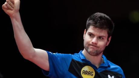 Zehnter der Tischtennis-Weltrngliste: Dimitrij Ovtcharov,.