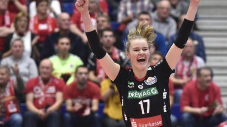 Nach Bundestrainer Felix Koslowski «eine der größten Entdeckungen des Sommers»: Camilla Weitzel.